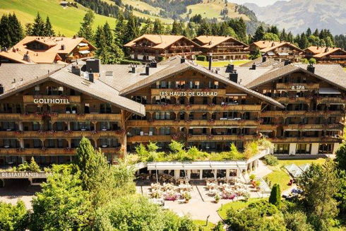 Externe Seite: Golfhotel Les Hauts de Gstaad & Spa****Superior